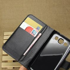 For Win i8552 Case Wallet Flip PU Leather Cover Case For Samsung Galaxy win i8552 With Card Slots Holder