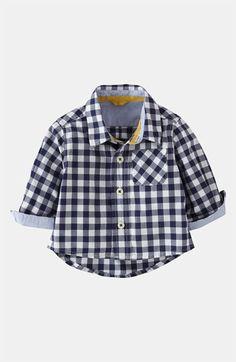 Mini Boden 'Baby' Shirt (Infant) | Nordstrom