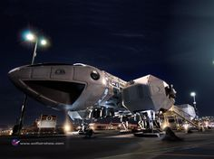 largest sci fi ship ever | Via SciFiWire comes this amazing series pictures from the SciFi ...