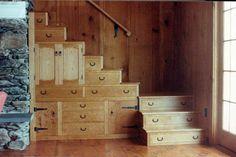 Идея kaidan-dansu для создания лестниц в современных домах.