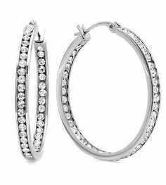 Napa Hoop Earrings - 3 styles available - Save 83% Just $16