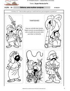 3º Trimestre de 2011 – Classe Kids (3 a 8 anos)                                                   Tema : Super Heróis da F...