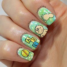 jackie18g baby #nail #nails #nailart