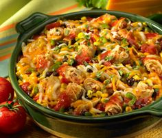 Taquito Bake, made this for dinner last night. Very good and very easy.