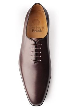 Finsbury Brown Leather Oxfords Brown leather oxfords from Finsbury Suit Shoes, Dress Shoes, Finsbury Shoes, Gents Shoes, Dark Brown Shoes, Gentleman Shoes, Formal Shoes For Men, Mens Boots Fashion, Casual Shoes