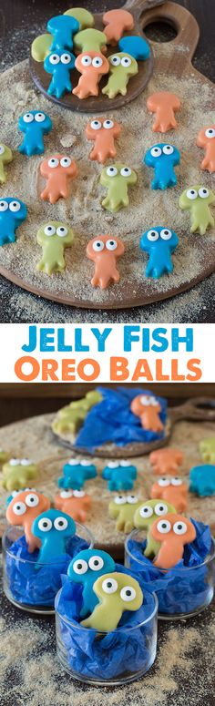 Jelly Fish Oreo Ball