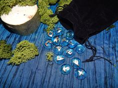 Glass rune kit from The Crooked Wand