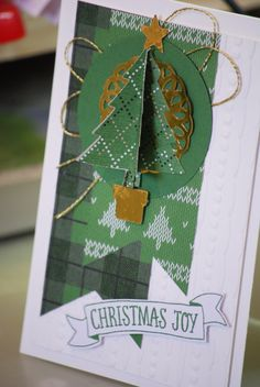 Jenny Creer, Independent Stampin' Up Demonstrator.  See 'My First Blog' on how to make this card.