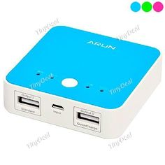 3600mAh Square Micro USB Portable Power Bank External Power Source Power Supply for Cell Phones EBTPH-376598