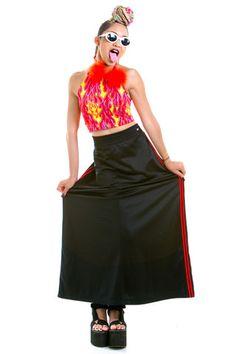 Vintage Athletic Babe Maxi Skirt - XL/XXL