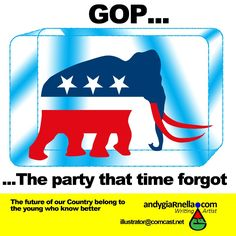GOP the endangered political species soon to be extinct