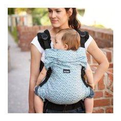 Porte Bébé Préformé Blue Leaves KIBI pour bien porter son bébé. Découvrez  les vertus du 458e3a02ccc