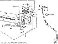 Honda Cn250 Helix 1988 J France Kph Yb Parts Lists And Schematics