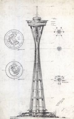 Victor Steinbrueck's original sketch