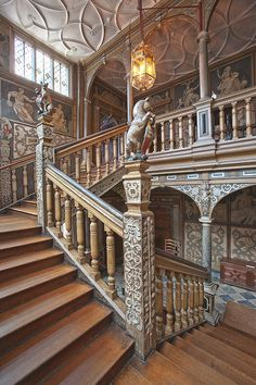 Knole House. Grand staircase.