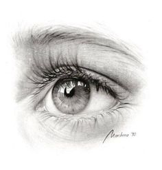 Realistic eyes lapiz pencil drawings, drawings и art drawing Pencil Art Drawings, Drawing Sketches, My Drawings, Sketching, Realistic Eye Drawing, Drawing Eyes, Drawing Skills, Drawing Techniques, Gif Kunst