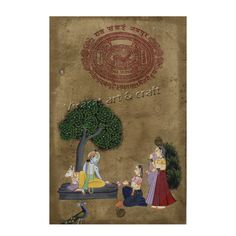 Miniature Painting of Radha Krishna on ancient rare stamp paper, gift, home decor, Indian art, Indian handicraft by VirasatArtAndCraft on Etsy Indian Gods, Indian Art, Rare Stamps, Paper Ship, Stamp Collecting, Art Forms, Krishna, Handicraft, Great Gifts