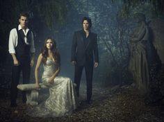First look at season 4! Ian Somerhalder, Paul Wesley and Nina Dobrev in 'The Vampire Diaries'