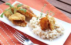 Risotto with perch | Risotto con pesce persico | #lake #Como #Lago #Italy #lakecomotravelguideapp #food #persico #risotto #perch