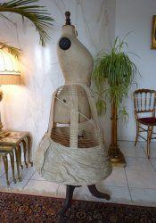 antique wire hoop skirt