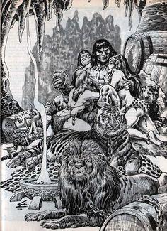 CONAN among beautiful girls and wild beasts - ernie chan