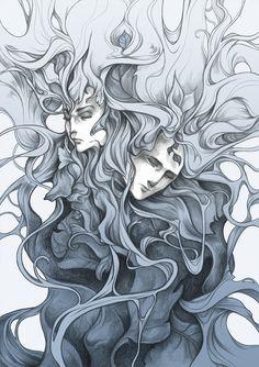 'Lovers' https://www.facebook.com/art.kuroi