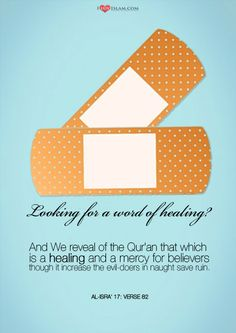 Looking for a word of healing