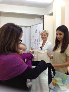 Sophie la girafe Baby -skincare shop at Les Momans in Paris May 2014. Et lancement officiel de la gamme de Soin Sophie la girafe baby #lesmomansSLG #sophielagirafecosmetics #sophielagirafebaby #sophielagirafebebe #france #ecocert