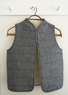 Corinne's Thread: QuiltedVest - Purl Soho - Knitting Crochet Sewing Embroidery Crafts Patterns and Ideas!