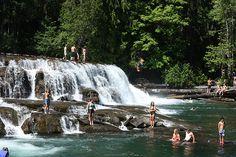 Stotan Falls, COMOX VALLEY