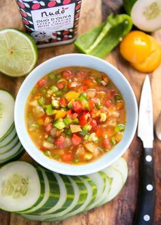 """""""FODMAP-free salsa tonight using ingredients that were ripe in our garden: Green bell pepper, Roma tomatoes, and yellow tomatoes."""" @The Food Lovers' Primal Palate"""