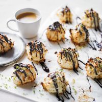 Martha Collison's lime & chocolate macaroons