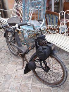 vintage mobilette