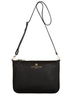 71f93454c9 Essential Cross Body Bag - Black Italian Leather
