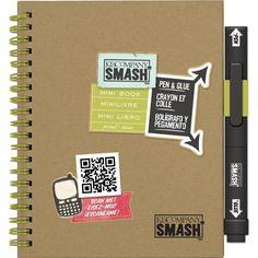 Smash Book Mini Play K&COMPANY Aproximadamente 22 paginas + Bolígrafo/Pegamento
