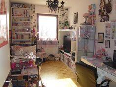 Cute Room Ideas, Cute Room Decor, Room Ideas Bedroom, Bedroom Decor, Room Ideias, Otaku Room, Kawaii Room, Indie Room, Room Setup