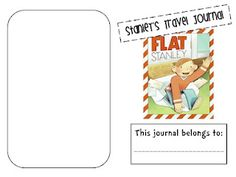 Printable flat Stanley journal.