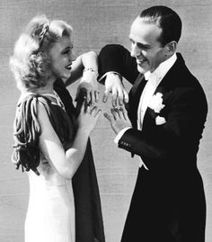 ginger rogers ·fred astaire ~  did we know how cool they were!!