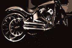 Big Dog Motorcycle, Custom Motorcycles, Choppers, Big Dogs, Darth Vader, Bike, Vehicles, Fictional Characters, Motorbikes