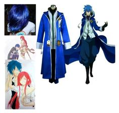 """""""Dante's Cosplay : Jellal"""" by simply-southern-anons ❤ liked on Polyvore featuring HUGO, men's fashion and menswear"""