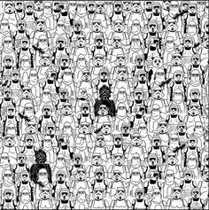 Encuentra al Panda, Versión Star Wars