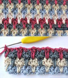Многоцветное вязание крючком. Обсуждение на LiveInternet - Российский Сервис Онлайн-Дневников