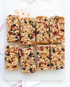 Resistant starch recipes: Chewy Almond Butter Power Bars