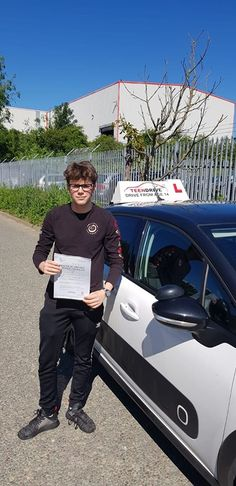 Connor Deary nailed his driving test today FIRST TIME well done to him and our Mick his instructor. The Pass Machine Rolls on. Driving Practice, Learning To Drive, Driving Teen, Driving School, Hilary Devey, Automatic Driving Lessons, Driving Courses, Safety Courses, Driving Instructor