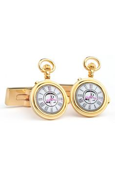 Free shipping and returns on Robert Graham 'Pocket Watch' Cuff Links at Nordstrom.com. On-point style emanates from sharp cuff links plated in 18-karat gold.