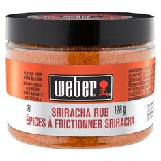 Shop Weber Sriracha Rub Seasoning Blend at Lowe's Canada. Find our selection of sauces & seasoning at the lowest price guaranteed with price match. Steak Spice, Perfect Steak, Bbq Rub, Spice Rub, Beef Burgers, Sans Gluten, Natural Flavors, Fresh Herbs, Grilling Recipes