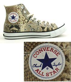 3ef557e10a27ca snake-skin-converse-all-star-hi-3 Chucks Shoes
