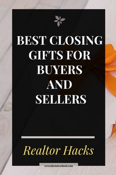 Best Closing Gifts for Buyers and Sellers — Rev Real Estate School Real Estate Gifts, Real Estate Buyers, Real Estate Leads, Real Estate School, Realtor Gifts, Client Gifts, Estate Agents, Real Estate Marketing, Closer