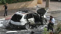 BMW X-Series X5 crashed in Netanya, ISRAEL