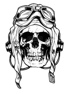 Don't normally like skulls but this is dope, probably would look even better as a retro sugar skull